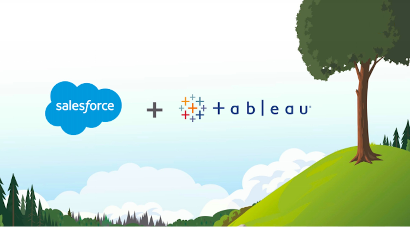 salesforce acquisitions, salesforce and tableau integration, tableau and salesforce, tableau for salesforce