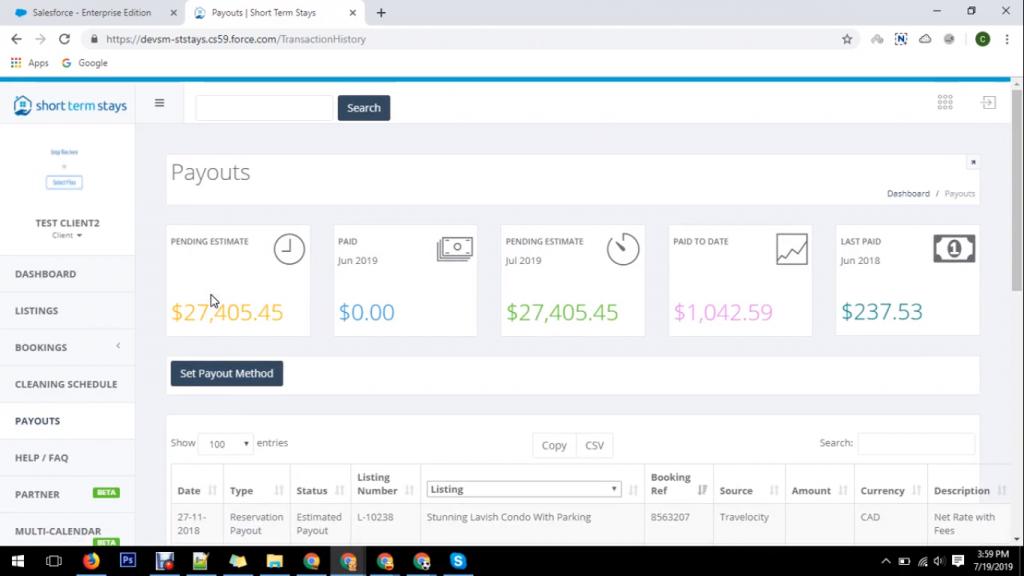 Salesforce website development