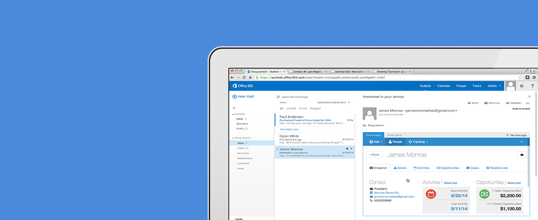 Maximize your inbox and calendar with Cirrus Insight!